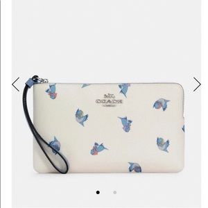 Coach wallet new Cinderella flying birds